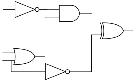 Electronics Design Specializations: example of digital circuit